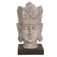 Buddha Head Sculpture 25cm