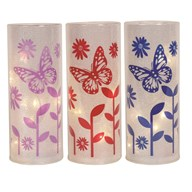 LED Butterfly Lantern 3 Assorted 20cm