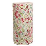 Floral Mosaic Vase 25cm