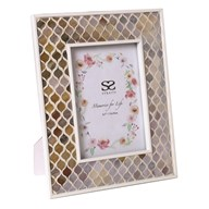 Coral Mosaic Photo Frame 5x7