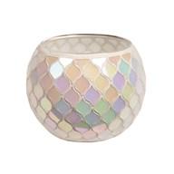 Lustre Mosaic Tealight Holder 10.5cm