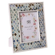 Coastal Mosaic Photo Frame 5x7