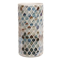 Coastal Mosaic Vase 25cm