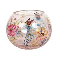 Butterfly Globe Tealight Holder 10cm
