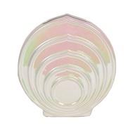 Lustre Circle Vase 23cm