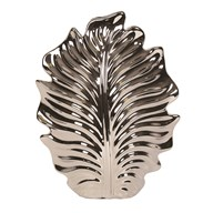 Silver Leaf Decorative Vase 29.5cm