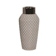 Grey Cocktail Vase 25cm