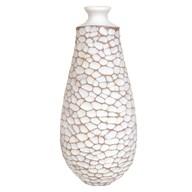 Geometric Design Narrow Neck Vase 38cm