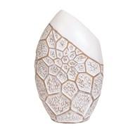 Geometric Oval Vase 35cm