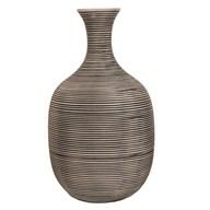 Striped Bottle Vase 31cm