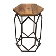 Mango Wood Side Table 40x60cm