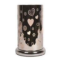 Heart Design Table Lamp 24cm