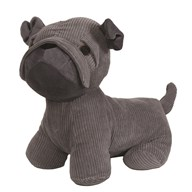 Grey Dog Doorstop 26cm