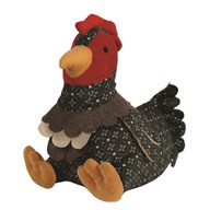 Cockerel Doorstop 26cm