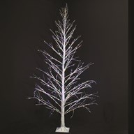 LED Twinkling Tree 1100 Lights 7ft
