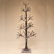 LED 190 Light Natural Birch Tree 90cm