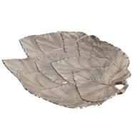 Leaf Platter 39cm - Silver