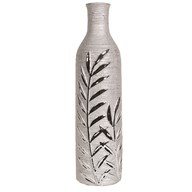 Leaf Design Bottle Vase 41cm