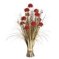 Carnation Floral Bndl 70cm Red