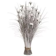 Carnation Floral Bndl 70cm Wh