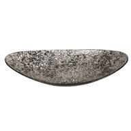 Grey Silver Bowl 38x9cm