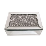 Jewelled Jewellery Box 20x12cm