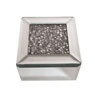 Jewelled Jewellery Box 12x12cm