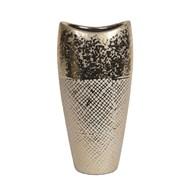 Gold Ellipse Vase 28cm