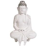 White Shelf Buddha 40.5cm