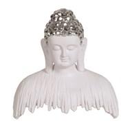 White Buddha Decor 23cm
