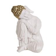 White Resting Buddha 27.5cm