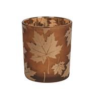 Amber Leaf TL Holder 10cm