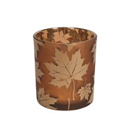 Amber Leaf TL Holder 8cm