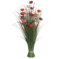 Grass Floral Bundle Poppy 100cm