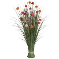 Grass Floral Bundle Dahlia 100cm