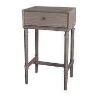 Slate Grey 1 Drawer Table 68cm