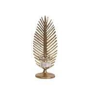 Gold Leaf Tealight Holder 30cm