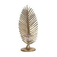 Gold Leaf Tealight Holder 35cm