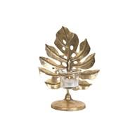 Gold Leaf TL Holder 22.5cm