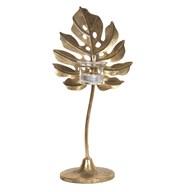 Gold Leaf TL Holder 33.5cm