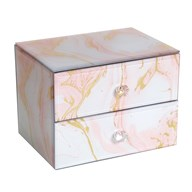 2 Drawer Jewellery Box 12cm