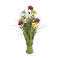 Grass Floral Bundle Mixed Peony 70cm