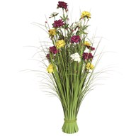 Grass Floral Bundle Mixed Peony 100cm