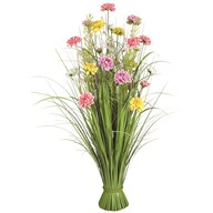 Grass Floral Bundle Mixed Dahlia 100cm