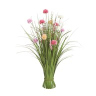 Grass Floral Bundle Mixed Allium 70cm