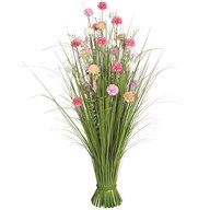 Grass Floral Bundle Mixed Allium 100cm