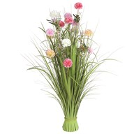 Grass Floral Bundle Mixed Carnation 100cm