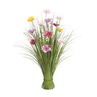 Grass Floral Bundle Mixed Plum Blossom 70cm