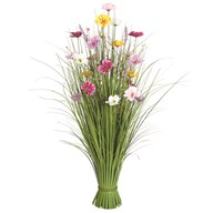 Grass Floral Bundle Mixed Plum Blossom 100cm