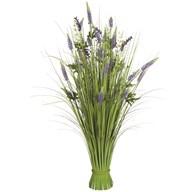 Grass Floral Bundle Lavender 100cm